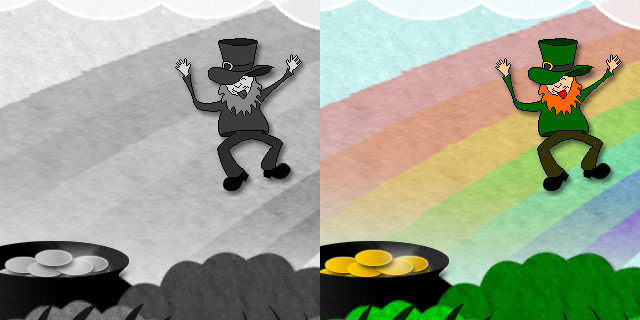 View Paddy's Day themed Flash Game