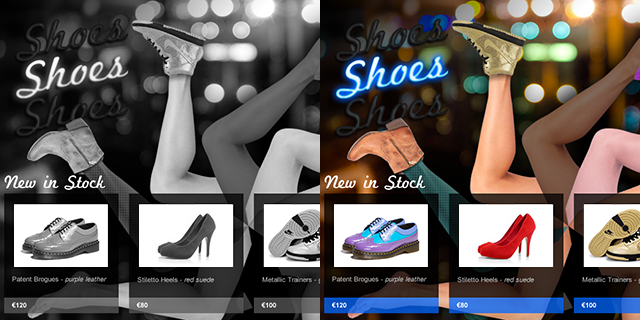 View Shoes hypothetical online store project